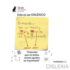 Irun mi mundo al revés - Nuria Pons Comellas - Libro dislexia