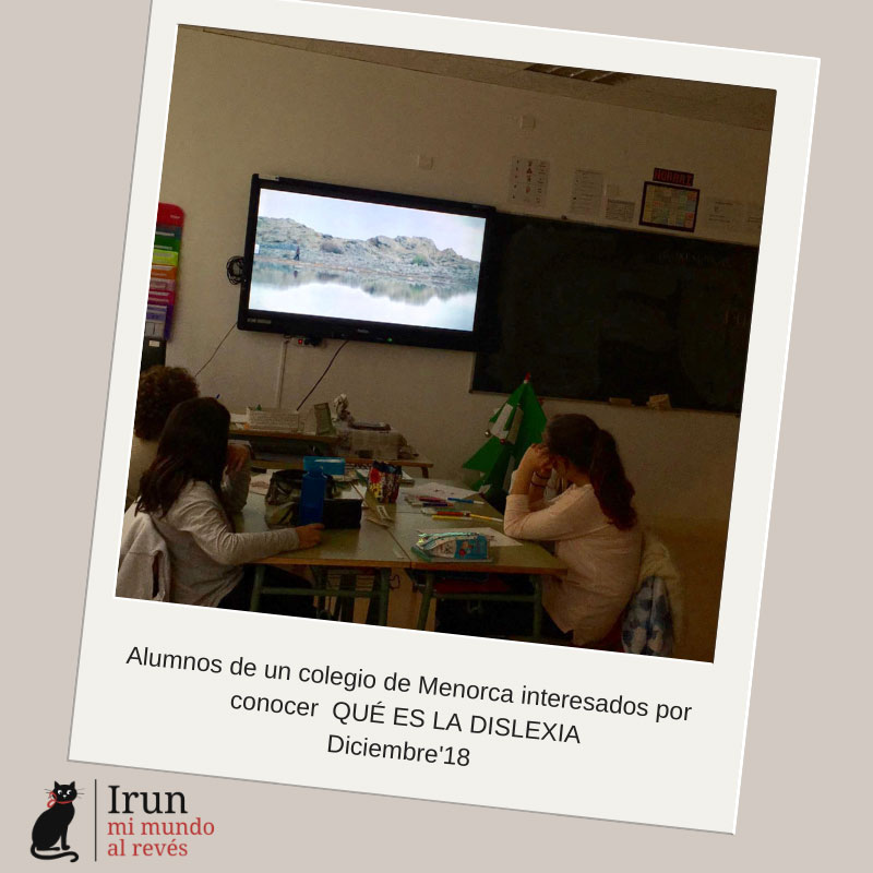 Post 44 - Irun mi mundo al revés - Nuria Pons Comella - Dislexia